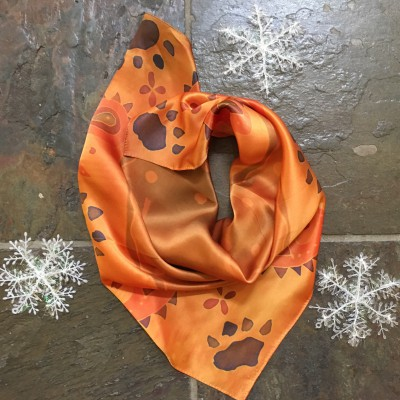 Limited Edition Pure Silk Bandanna -only 20 made! $60 each.